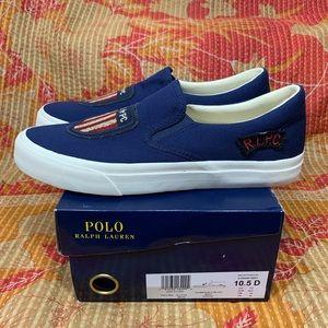 Polo Ralph Lauren Thompson Canvas Slip-On Sneakers